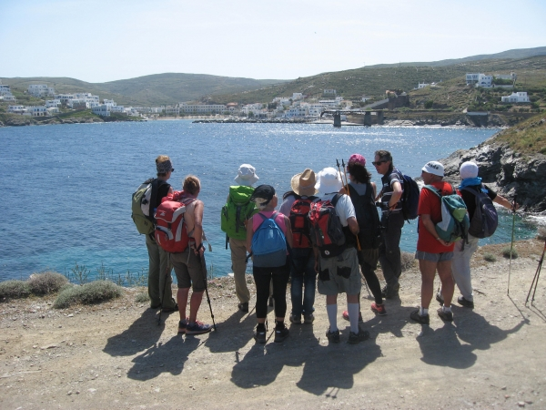 International experts support Kythnos hiking efforts, see sustainable tourism