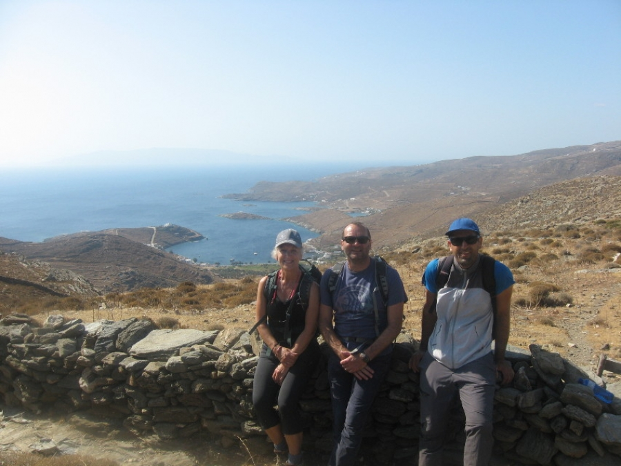 Hiking season seen starting in May on Kythnos, Greek island as Covid virus ebbs